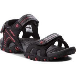 Sandały HI-TEC - Taman AVSSS18-HT-01-Q2 Black/Red. Czarne sandały męskie skórzane Hi-tec. W wyprzedaży za 129,00 zł.