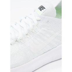 Nike Performance FREE RUN FLYKNIT 2 Obuwie do biegania neutralne white/pure platinum/black. Białe buty do biegania damskie marki Nike Performance, z materiału. Za 549,00 zł.