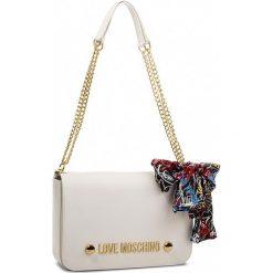 Torebka LOVE MOSCHINO - JC4121PP16LV0100  Bianco. Białe torebki klasyczne damskie Love Moschino, ze skóry ekologicznej. W wyprzedaży za 619,00 zł.