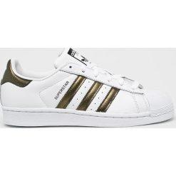 Adidas Originals - Buty Superstar. Szare buty sportowe damskie adidas Originals, z gumy. W wyprzedaży za 349,90 zł.