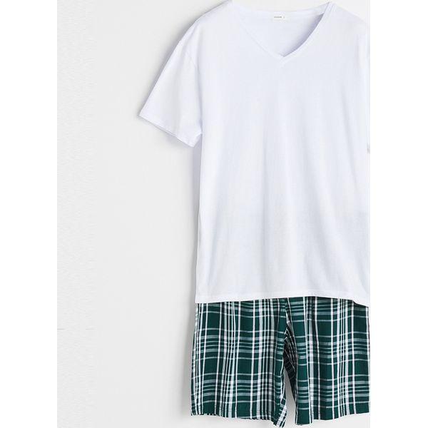 3001bc13fc5a58 Piżama z szortami - Biały - Białe piżamy damskie Reserved, s, bez ...