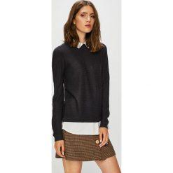 Jacqueline de Yong - Sweter. Brązowe swetry klasyczne damskie marki Jacqueline de Yong, l, z dzianiny. Za 119,90 zł.