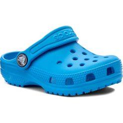 Klapki CROCS - Classic Clog K 204536 Ocean. Niebieskie klapki chłopięce marki Crocs, z tworzywa sztucznego. Za 119,00 zł.