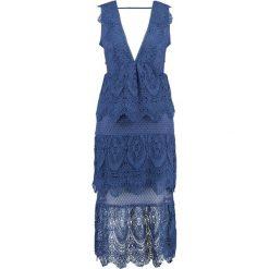 Sukienki hiszpanki: Topshop Sukienka koktajlowa blue