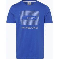 Jack & Jones - T-shirt męski – Comirko, niebieski. Niebieskie t-shirty męskie z nadrukiem Jack & Jones, m. Za 59,95 zł.