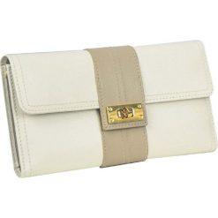 Kopertówka na biżuterię Belgravia. Żółte torebki na łańcuszku marki Dulwich, ze skóry, wakacyjne. Za 245,00 zł.