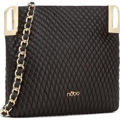 Torebka NOBO - NBAG-D3260-C020 Czarny. Czarne torebki klasyczne damskie marki Nobo, ze skóry ekologicznej. W wyprzedaży za 89,00 zł.