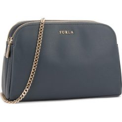 Torebka FURLA - Capriccio 978533 E EL73 V18 Ardesia e. Niebieskie torebki klasyczne damskie Furla, ze skóry. W wyprzedaży za 709,00 zł.