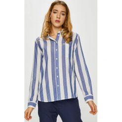 Lee - Koszula. Szare koszule damskie marki Lee, l, w paski, z bawełny, casualowe, z klasycznym kołnierzykiem, z długim rękawem. Za 219,90 zł.