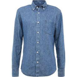 Tiger of Sweden DONALD Koszula soft blue melange. Brązowe koszule męskie marki Tiger of Sweden, m, z wełny. Za 499,00 zł.