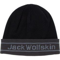Czapka JACK WOLFSKIN - Pride Knit Cap 1907261 Black. Czarne czapki z daszkiem męskie Jack Wolfskin. Za 85,99 zł.