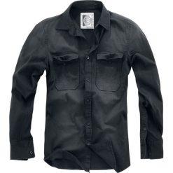 RED by EMP There Is No Business Like Rock Business Koszula ciemnoszary. Czarne koszule męskie na spinki marki Leonardo Carbone, s, z materiału, z długim rękawem. Za 149,90 zł.