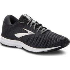 Buty BROOKS - Revel 2 110292 1D 050 Black/Grey/Grey. Czarne buty do biegania męskie Brooks, z materiału. W wyprzedaży za 299,00 zł.