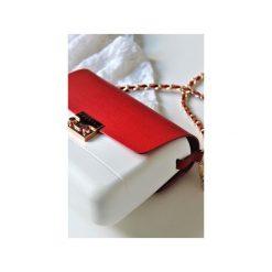 Torba Lulu Bag White. Białe torebki klasyczne damskie Doubleu bag. Za 240,00 zł.
