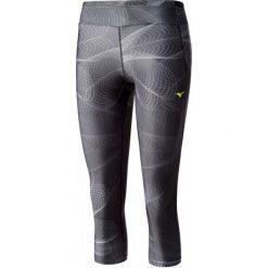 Bryczesy damskie: Mizuno Spodnie Do Biegania Lotus 3/4 Tights Black S