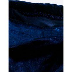 Public Desire - Kozaki Annie. Niebieskie buty zimowe damskie marki Public Desire, z materiału, na obcasie. W wyprzedaży za 149,90 zł.