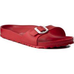 Chodaki damskie: Klapki BIRKENSTOCK - Madrid 0128193 Red