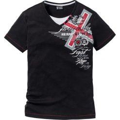 T-shirty męskie: T-shirt Slim Fit bonprix czarny