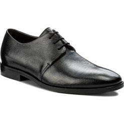Półbuty ALDO BRUÈ - AB498DP-CARI Cervo Ant. Nero. Czarne buty wizytowe męskie Aldo Bruè, ze skóry. W wyprzedaży za 1099,00 zł.