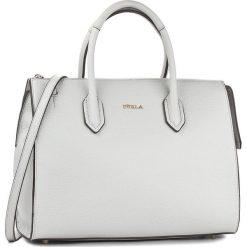 Torebka FURLA - Pin 924672 B BMJ9 OAS Color Cristallo. Szare torebki klasyczne damskie marki Furla, ze skóry. Za 1059,00 zł.