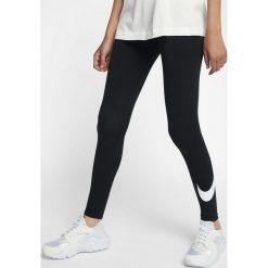 Spodnie damskie: Nike Legginsy Nike NSW Leggins Club Logo 2 czarne r. XS (815997 010)
