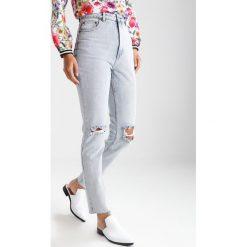 Cheap Monday DONNA Jeansy Slim Fit stoned organic. Niebieskie rurki damskie Cheap Monday. W wyprzedaży za 209,30 zł.