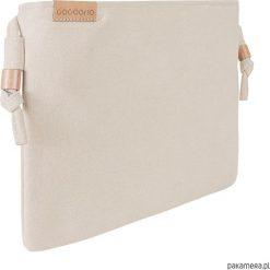 Kopertówki damskie: Nodo Bag beżowa torebka / kopertówka z paskiem