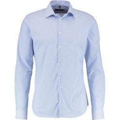 Koszule męskie na spinki: Seidensticker SLIM FIT KENT PATCH Koszula biznesowa hellblau