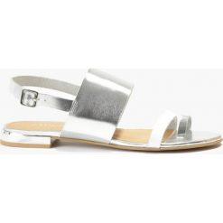 Sandały srebrne Carla. Fioletowe sandały damskie marki Badura. Za 151,99 zł.