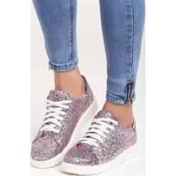 Różowe Buty Sportowe Houndred Suns. Czerwone buty sportowe damskie marki KALENJI, z gumy. Za 89,99 zł.