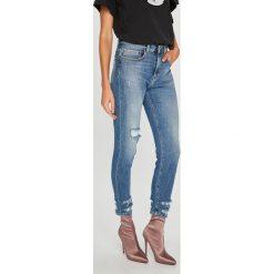Pinko - Jeansy Minou. Niebieskie jeansy damskie rurki marki Sinsay, z podwyższonym stanem. Za 899,90 zł.