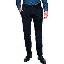 Spodnie fondo 214 granatowy slim fit. Czerwone rurki męskie marki Recman, m, z długim rękawem. Za 229,00 zł.