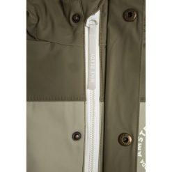 Scotch Shrunk AMSTERDAM PROOF RAIN JACKET Kurtka przeciwdeszczowa green. Zielone kurtki chłopięce przeciwdeszczowe marki Scotch Shrunk, z materiału. W wyprzedaży za 356,30 zł.