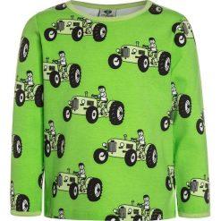 Bluzki dziewczęce: Småfolk WITH OLD STYLE TRACTOR Bluzka z długim rękawem kiwi