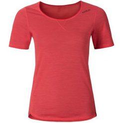 Odzież damska: Odlo Koszulka damska Shirt s/s crew neck Revolution TW Light pomarańczowa r. S