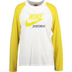 Bluzki asymetryczne: Nike Sportswear Bluzka z długim rękawem sail/vivid sulfur