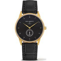 Zegarek unisex Paul Hewitt Signature PH-M1-G-B-15M. Czarne zegarki męskie marki Paul Hewitt. Za 675,00 zł.