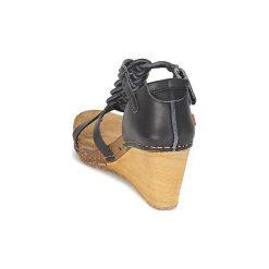 Sandały Art  VALBY. Czarne sandały damskie Art, z kauczuku. Za 384,30 zł.