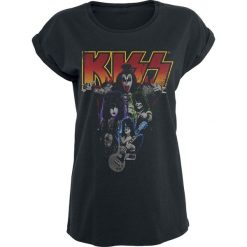 Kiss Band-Photo Koszulka damska czarny. Czarne bralety marki Kiss, l. Za 94,90 zł.