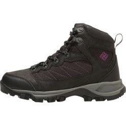 Buty zimowe damskie: Columbia CASCADE PASS WATERPROOF Buty trekkingowe black/intense violet