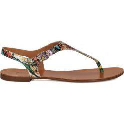 Sandały damskie: Multikolorowe sandały damskie