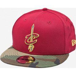 New Era - Czapka Team Camo 9fifty Cleveland Cavaliers. Zielone czapki z daszkiem męskie New Era. W wyprzedaży za 99,90 zł.
