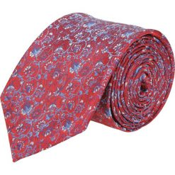 Krawat platinum czerwony classic 229. Czerwone krawaty męskie Recman. Za 49,00 zł.