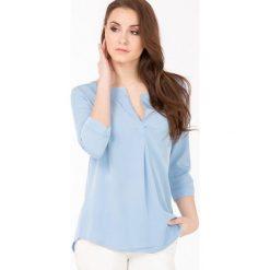 Bluzki asymetryczne: Wizytowa bluzka damska