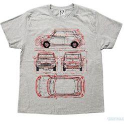 Bluzki, topy, tuniki: Koszulka MINI RED GREY