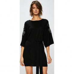 Pinko - Sukienka Brassavola. Czarne sukienki dzianinowe marki Mohito, l, proste. Za 1299,00 zł.