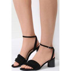 Czarne Sandały Want Me Too. Czarne rzymianki damskie vices, na wysokim obcasie. Za 69,99 zł.