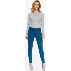 Spodnie damskie: JEANSOWE SPODNIE RURKI