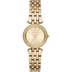 Zegarek MICHAEL KORS - Petite Darci MK3295 Gold/Gold. Żółte zegarki damskie Michael Kors. Za 1150,00 zł.