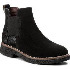 Sztyblety JENNY FAIRY - WYL1016A-5 Czarny. Czarne buty zimowe damskie marki Jenny Fairy, z materiału, na obcasie. W wyprzedaży za 83,99 zł.